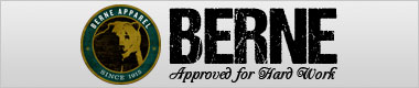 berne apparel, approved for hard work