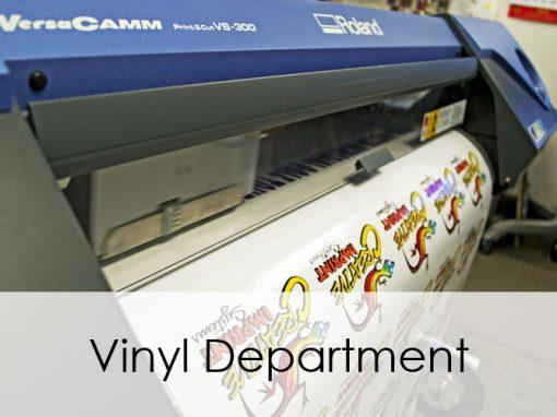 Vinyl Department