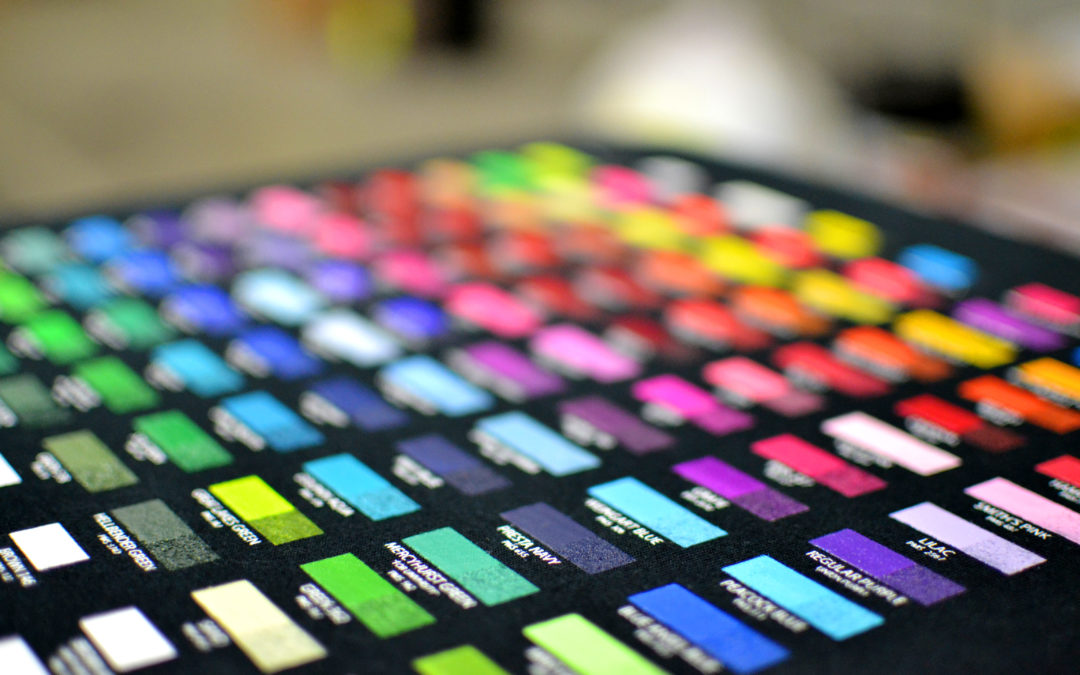 Choosing a Color for Your Company's T-shirt & Why It Really Matters